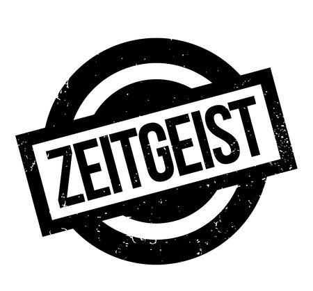 Zeitgeist rubber stamp Ilustração Vetorial