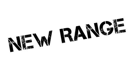 New Range rubber stamp Illustration