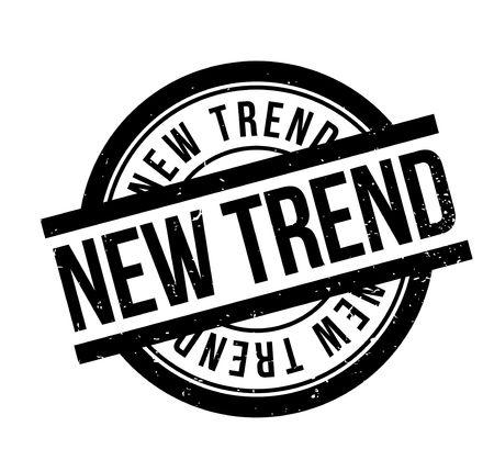 tenor: New Trend rubber stamp Illustration
