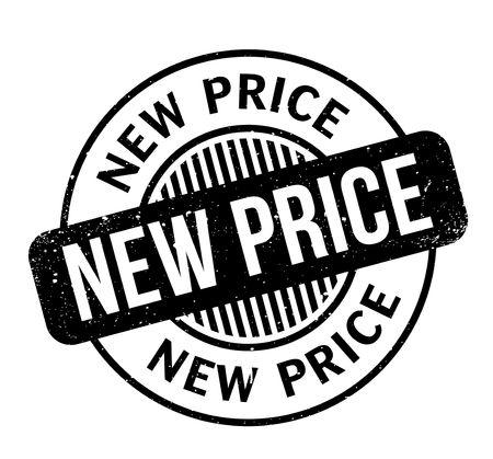 New Price rubberzegel