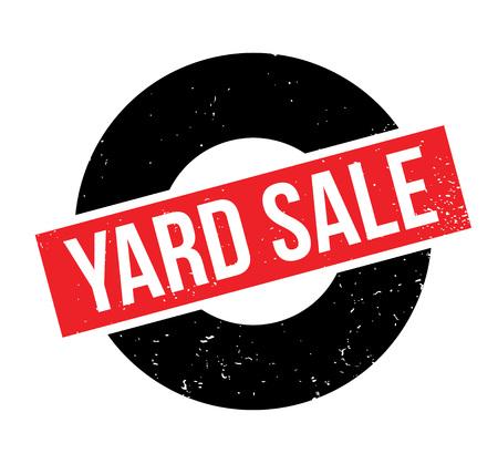 Yard Sale rubber stamp Imagens - 82550056