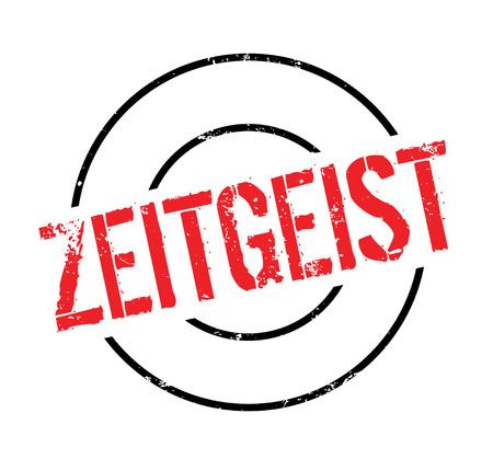 Zeitgeist rubber stamp Stock Vector - 82550074