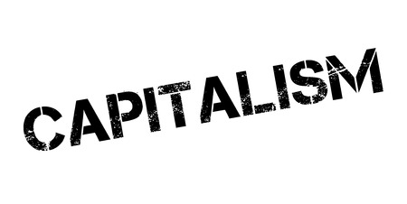 Timbre en caoutchouc capitaliste