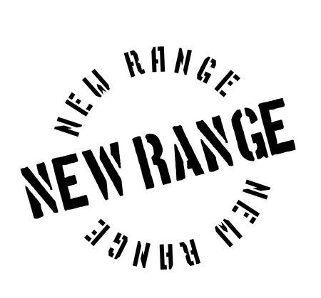New Range rubber stamp Çizim