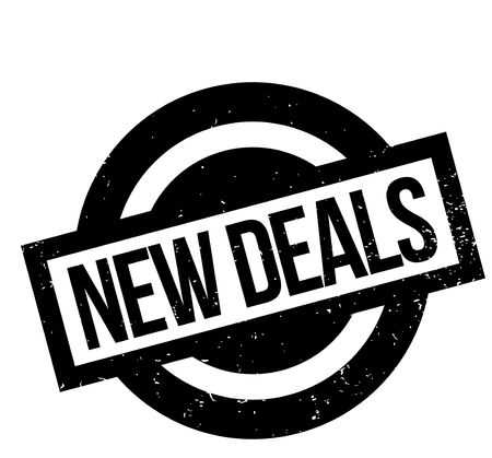 New Deals rubber stamp