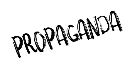 indoctrination: Propaganda rubber stamp