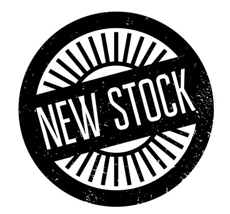 New Stock rubber stamp