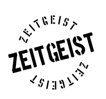 Zeitgeist rubber stamp Stock Vector - 82550498