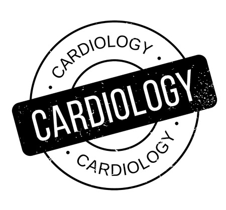 heart disease: Cardiology rubber stamp