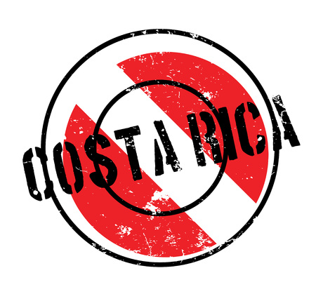 Costa Rica rubber stamp