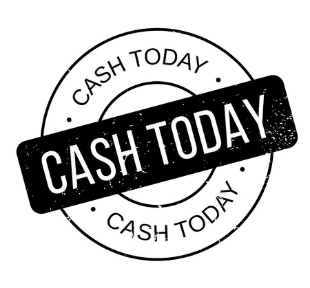 Cash Today rubber stamp