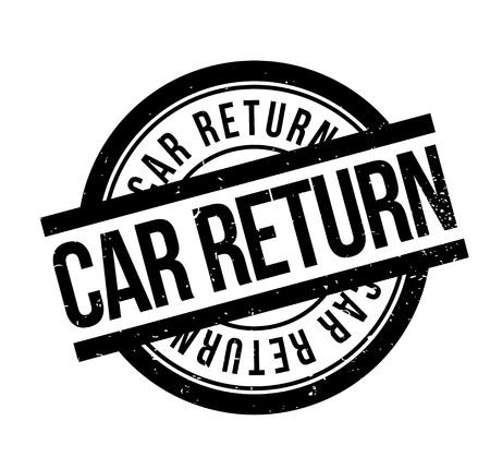 Auto Rubberstempel retourneren