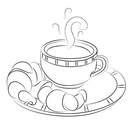 Cartoon image of espresso