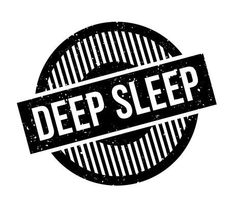 Deep Sleep rubber stamp