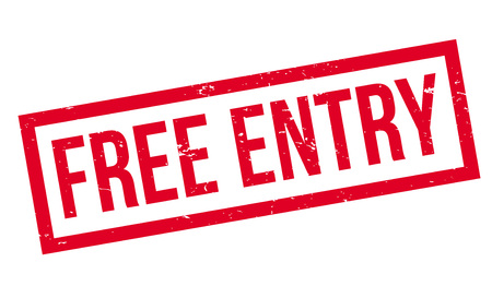 freebie: Free Entry rubber stamp