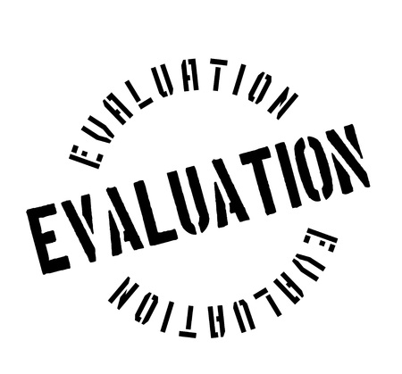 Evaluation rubber stamp