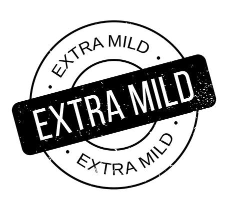 advantages: Extra Mild rubber stamp