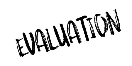 concluded: Evaluation rubber stamp