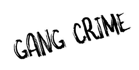 antisocial: Gang Crime rubber stamp