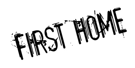 First Home rubber stamp