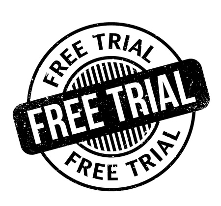 Free Trial rubber stamp