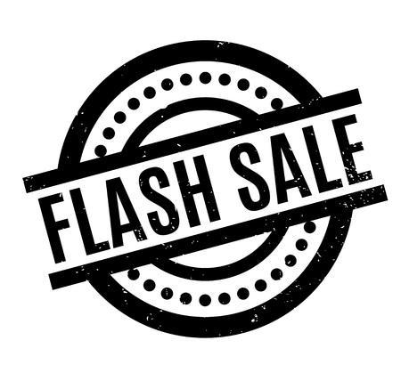 Flash Sale rubber stamp Illustration