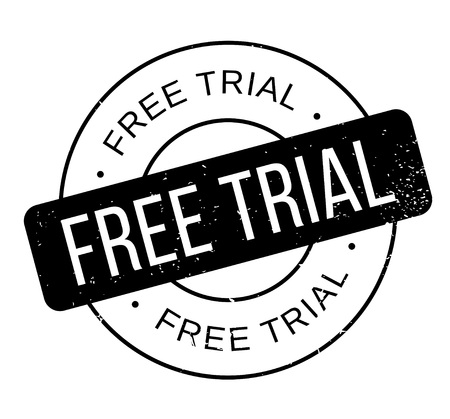 free trial: Free Trial rubber stamp