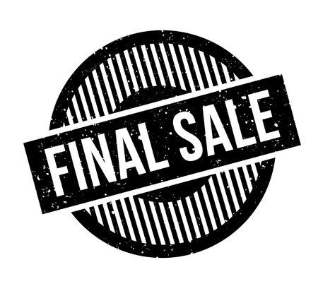 barter: Final Sale rubber stamp