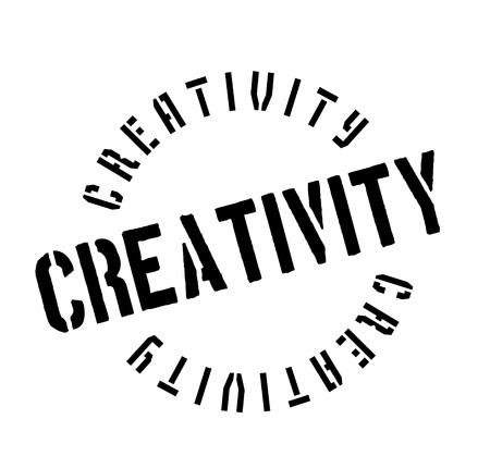 Creativity rubber stamp