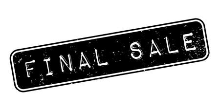 conclusive: Final Sale rubber stamp