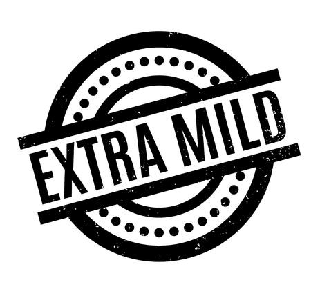 Extra Mild rubber stamp