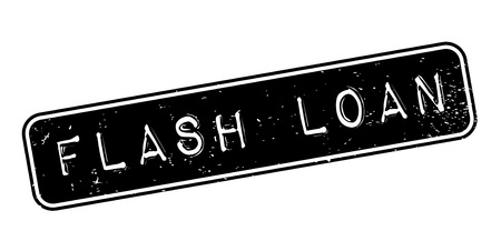 Flash Loan rubber stamp