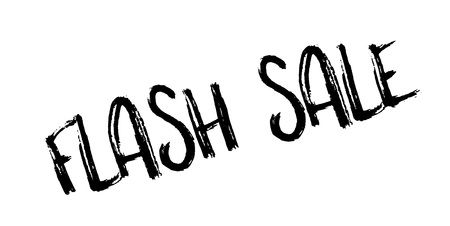 Flash Sale rubber stamp Ilustração