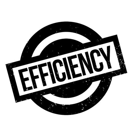 energy work: Efficiency rubber stamp