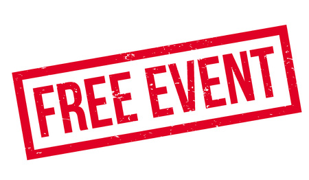 occassion: Free Event rubber stamp