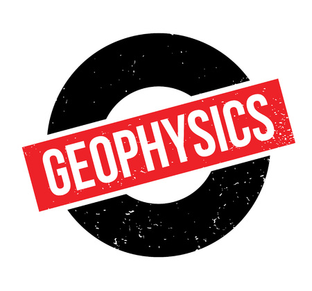 Geophysics rubber stamp