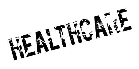 Healthcare rubber stamp Illustration