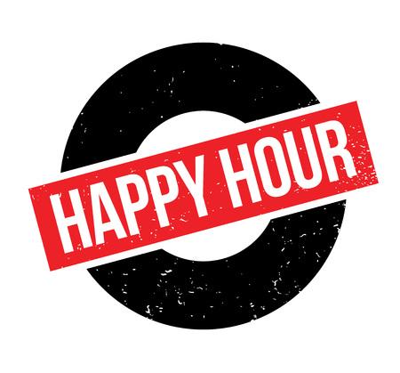 Timbro di gomma Happy Hour