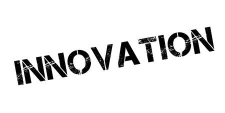 Innovation rubber stamp Ilustracja