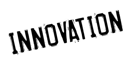 Innovation rubber stamp Illustration