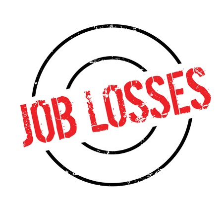 Job Losses rubber stamp
