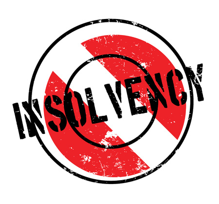 poverty: Insolvency rubber stamp