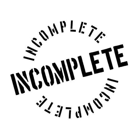 Incomplete rubber stamp Çizim