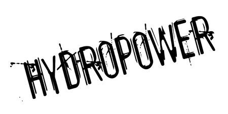Hydropower rubber stamp