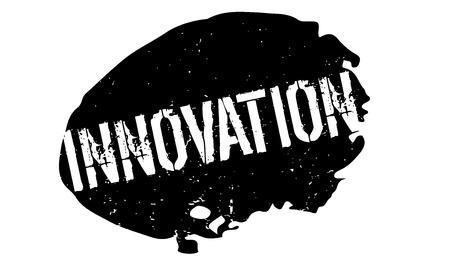 Innovation rubber stamp Illustration