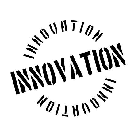 better: Innovation rubber stamp illustration.