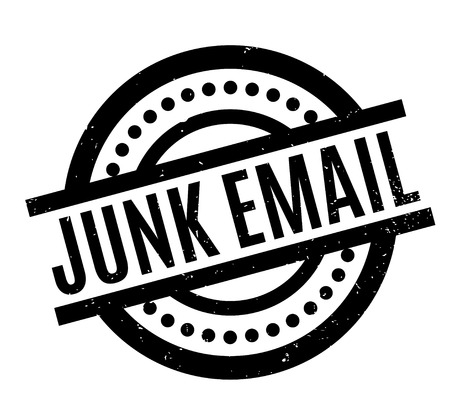 unsolicited: Junk Email rubber stamp