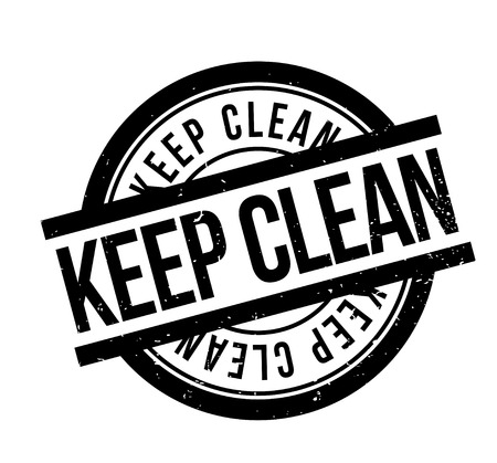 Keep clean rubber stamp.