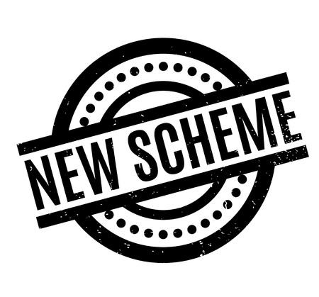 theories: New Scheme rubber stamp