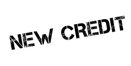 New Credit rubber stamp Banco de Imagens - 83070914